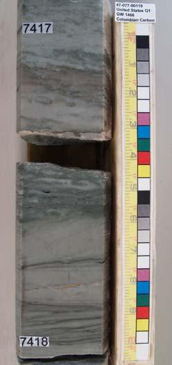 Slabbed Core Photo